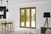 External glazed doors