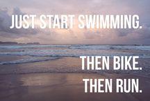 Triathlon / Training, Motivation, coole Ziele, Ideen für Sprüche und Bilder etc.