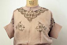 vintage blouses / tops