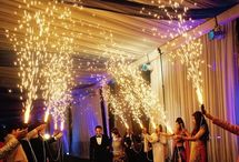 Entry of bride and groom