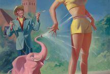 My  / elephants should be pink