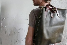 Leathery leather bags