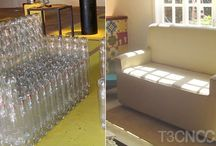 recycling - to make furniture