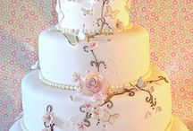 Stylish cakes and sweets