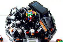 Rubik's Cube robotic solvers