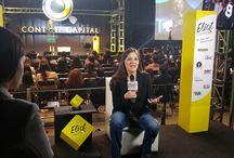"""Content Capital / Primer foro y feria de contenidos digitales, en donde se expusieron las mejores practicas del new media market en México. Sana Y Hermosa participó en el Panel """"Salud"""" como New Media Influencer"""