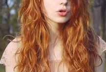 boheemit hiukset