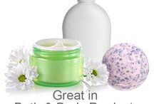 Cosmetic Fragrances / Fragrances from Natures Garden that can be used to make cosmetic products like lotion, MP soap, bath gel, bath bombs, sugar scrubs, etc.