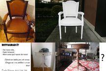 Restauro de móveis / Restauro para dar mais glamour à sua mobília!