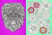 Art Therapy / Love colouring in beautiful, therapeutic patterns? So do we, so we've collected our favourite designs for you to enjoy  / by Crafts Beautiful