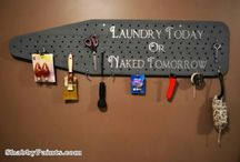 Laundry room inspiration  / by Derece Williams