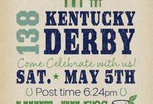 Kentucky Derby Ideas / Eats, Drinks and Invitation Ideas for Kentucky Derby