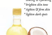 Coco oil for skin