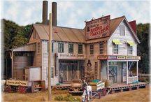 Vintage American Buildings 1:87 (H0)