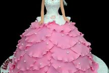 Dress,doll cakes