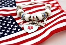Three Cheers for the Red, White & Blue! / Fourth of July is quickly approaching! Need some great ideas for the holiday?