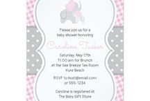 Elephant Baby Shower, Pink and Gray / Sweet pink and gray/grey elephant baby shower theme. DIY, planning, decor, fun food and more!