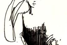 Drawings o.a. Petra Lunenberg