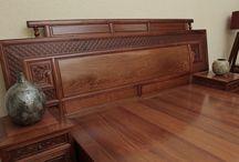 Đồ gỗ nội thất giường ngủ gỗ tự nhiên hiện đại / Nhà thiết kế sản xuất đồ gỗ nội thất giường ngủ gỗ phong cách hiện đại uy tín tại Hà Nội
