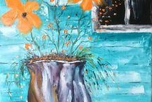 Artistes-peintres / Mes toiles