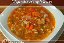 Soup and Salad / Recipes for Indian Soup And Salad