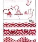 Turkish lace oya