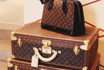 Louis Vuitton / Design with everything related with brand LV