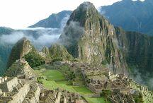 Machu Picchu / Nedaleko Limy v Peru