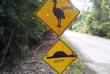 Australian signs