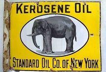 Vintage enamel Sign
