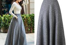 long skirts..