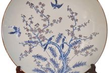 Chinese Chargers / Beautiful Large plates with fine detail.