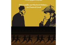 Οι χαρακτήρες του Δον Καμίλλο και του Σέρλοκ Χολμς... στα αρχαία ελληνικά / Ένας Ισπανός καθηγητής δίνει ραντεβού στον Δον Καμίλλο και στον Σέρλοκ Χολμς την ίδια ώρα...στο ίδιο βιβλίο.... Πώς θα καταφέρουν να συνεννοηθούν μεταξύ τους, όταν ο συγγραφέας τούς βάλει να μιλήσουν...στα αρχαία ελληνικά; O Juan Coderch,  καθηγητής ελληνικών στο Πανεπιστήμιο St. Andrews στη Σκωτία, ζωντανεύει δύο από τους πιο αγαπημένους ήρωες της παγκόσμιας λογοτεχνίας με τη βοήθεια μιας γλώσσας που πολλοί επιμένουν ακόμα να χαρακτηρίζουν «νεκρή».