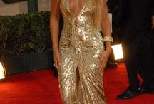 Dress golden