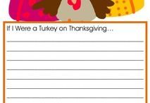 Thanksgiving Crafts, Activities, Decor, Tablescapes,  Wreaths, Traditions, Shirts, and, Hair Bows / by Sharon Lucas Minnick