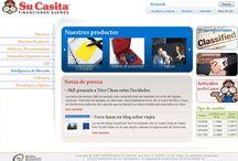 """Su casita / https://www.sucasita.com.mx/ Tipo de proyecto: Sitio de internet Diseñado por: webXSP Descripción: Diseño de sitio y asesorías para la implementación de toda la maquetación de HTML/CSS dentro de """"porlets"""""""