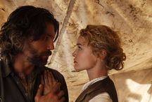 """Hell on Wheels """"I don't know if men like us find peace. """"  / AMC's Hell on Wheels. Damn straight!"""