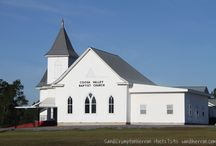 Historical and Old Churches / Traveling the backroads, discovering old churches that have left their indelible mark on many lives.