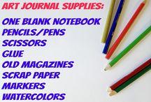 Classroom::Art Journals
