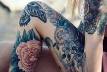 Tattoo - blomster