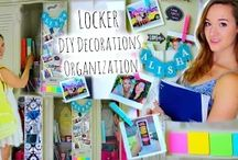 locker dıy decoratıons organızatıon