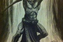 Deadra's, Uruk-Hai - Humanoidy
