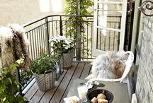 - Balcony -