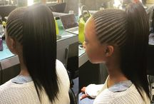 Straight Up Hair by Midori / Images of Straight Up Hairstyles by various stylists at Midori