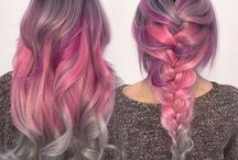 Colourful hair