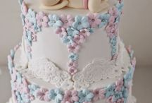Baby Shower / Cakes, cupcakes, cookies and popcakes for baby shower