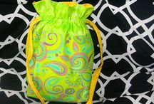 Drawstring bags / by Sandra Childs