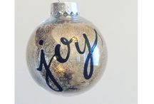 Custom Ornaments / Customized handcrafted Christmas ornaments made by  @_colourmysoul