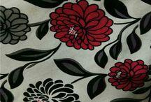 Decorative linen flocked velvet living room sofa cover