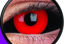 Halloween Contact Lenses / Order your Halloween crazy contact lenses now!